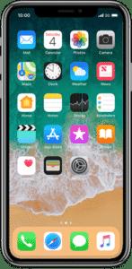køb og salg, samt reparation af iPhoneX
