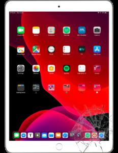 køb og salg, samt reparation af iPad2019BG